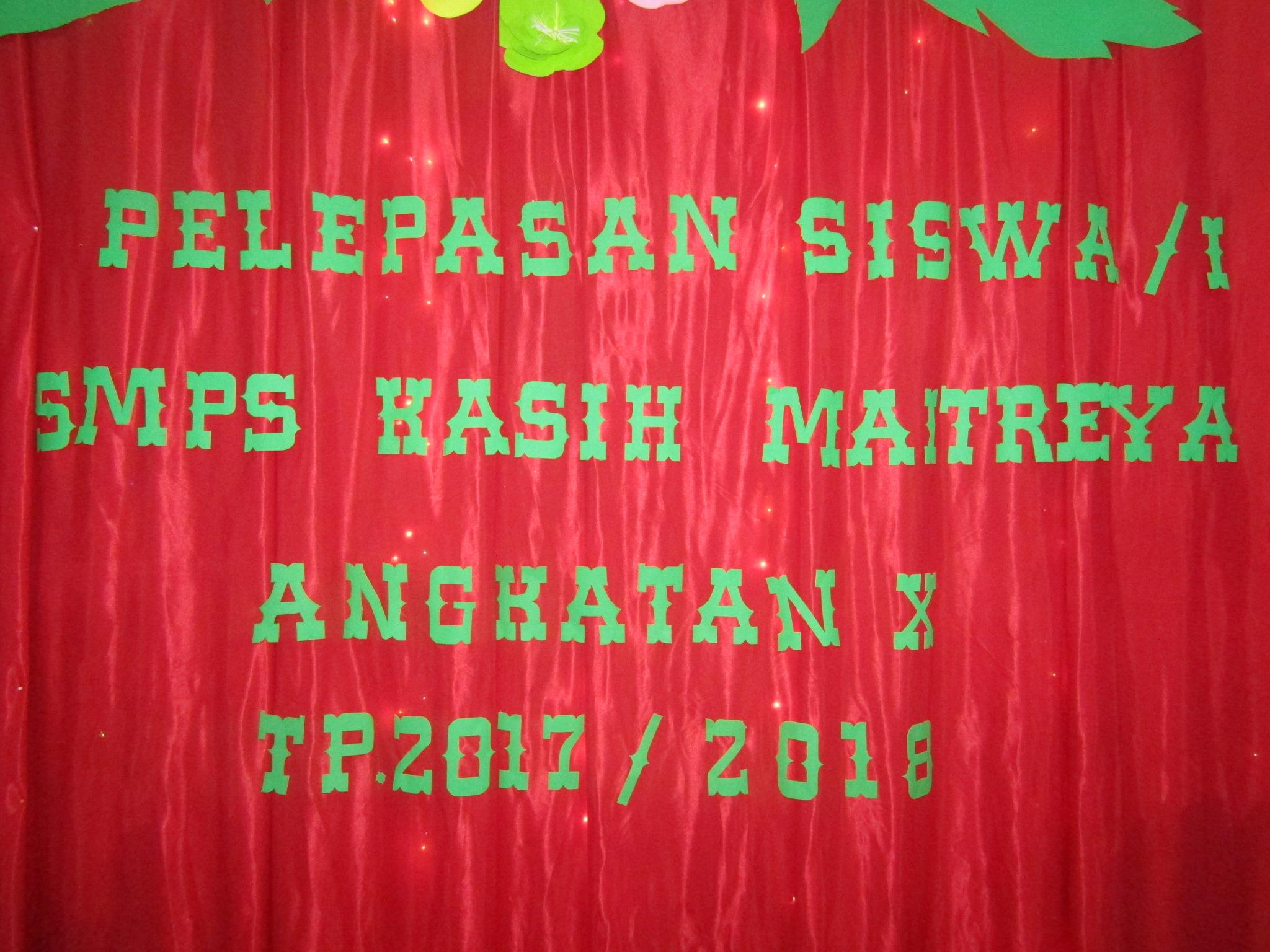 Perpisahan Siswa SMP T.P 2017-2018 (G 10)